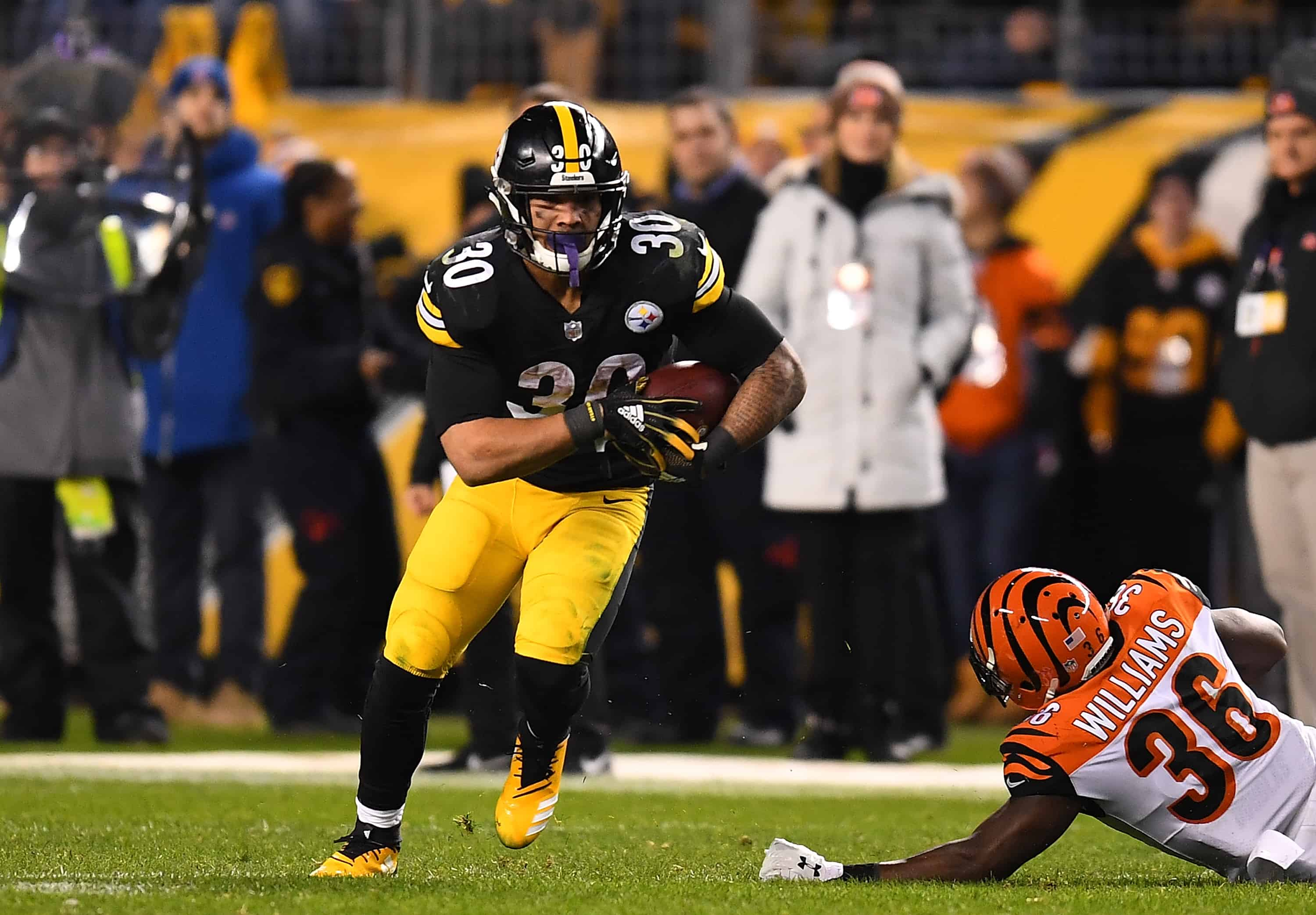 Bengals Vs Steelers Fantasy Football Worksheet Week 4