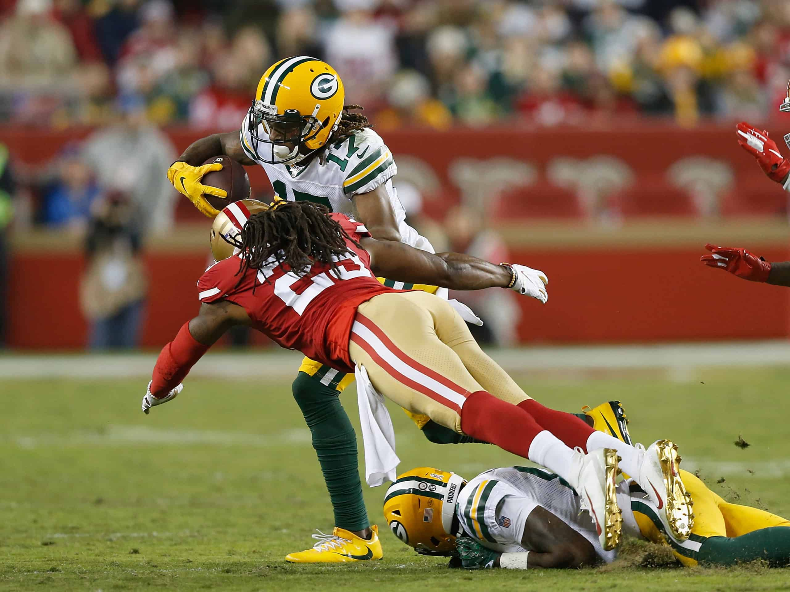 Packers Vs 49ers Can The Packers Get Davante Adams The Ball And Avoid Richard Sherman Sharp Football